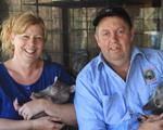 Roz & Kev Holme - Injured Australian Wildlife Carers